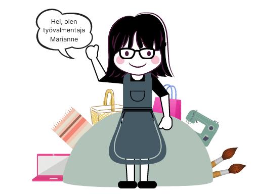 Käsityöpajan Marianne